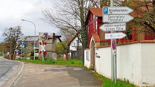 Bahnübergang Baunach