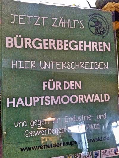 Aufsteller in einem Café in Bamberg