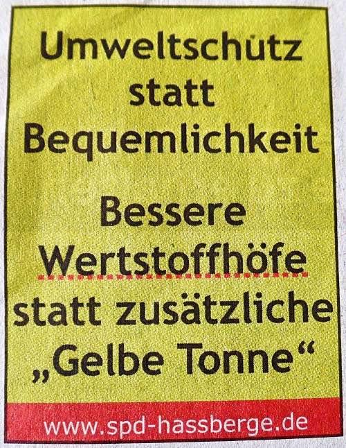 Symbolbild Zeitungsanzeige